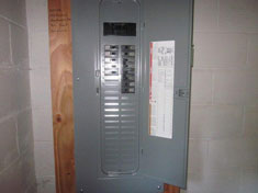 New 200 Amp Electric Panel