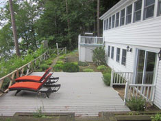 Lower Walk Out Deck